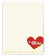 Franny Personalized Stationery