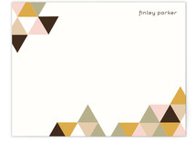 Geometry Personalized Stationery
