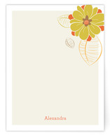 Flower Power Personalized Stationery