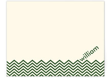 Chevron Waves Personalized Stationery