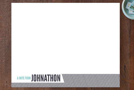 Boy's League Personalized Stationery