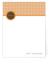 Matelasse Personalized Stationery
