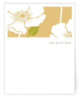 Poppy Field Personalized Stationery