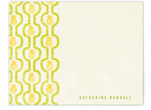 pineapple pattern Personalized Stationery