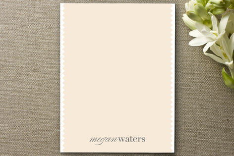 Dainty Ridges Personalized Stationery