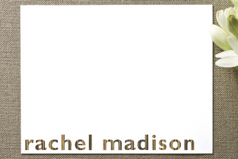 Rachel Madison Personalized Stationery