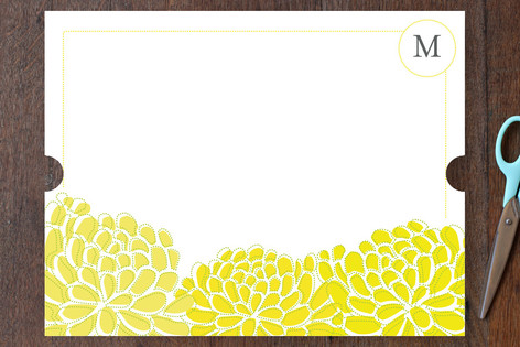 sunny botanical Personalized Stationery