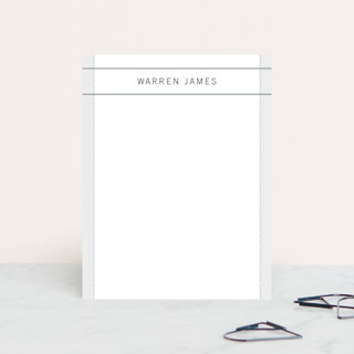 warren Personalized Stationery