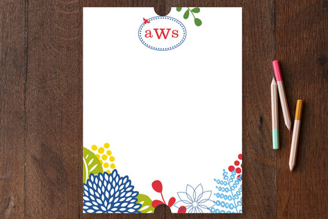 spring blossom Personalized Stationery