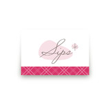 Elegant Joy Table Signs