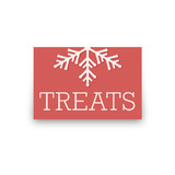 Holiday Stripes Table Signs