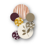 Foliage Thanksgiving Table Confetti