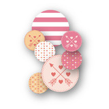 Conversation Heart Valentine Table Confetti