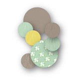 Wooded Blooms Table Confetti