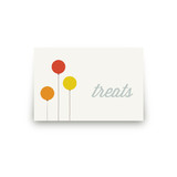 Colorful Balloons Table Signs