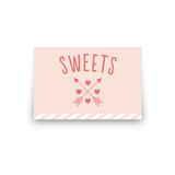 Conversation Heart Valentine Table Signs