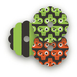 Monster Halloween Wine Glass Tags