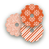 Nordic Joy Wine Glass Tags