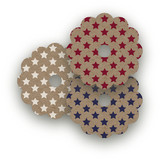Patriot Wine Glass Tags