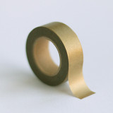 Solid Gold Washi Tape