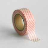 Melon Stripe Washi Tape