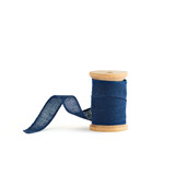 Navy Loose Weave Cotton