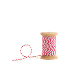 White & Red Baker's Twine