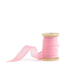 Classic Pink Loose Weave Cotton