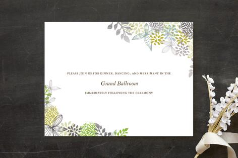 Fling Foil-Pressed Reception Cards