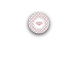 Red Velvet Rounded Closure Sticker