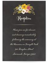 Plentiful Blossoms Reception Cards