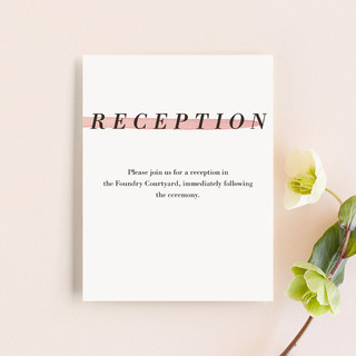 Watercolor Frame Reception Cards