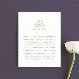 A Glamorous Affair Reception Cards