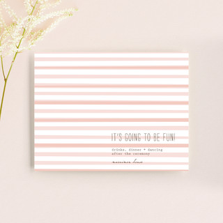 Simply Love Reception Cards