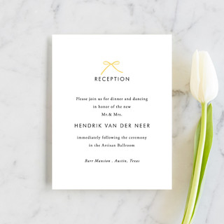 Sweet Boutique Reception Cards