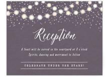 Garden Lights Reception Cards