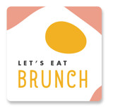 Let's Eat Brunch by merry mack creative