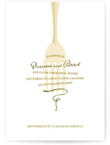 Toast Rehearsal Dinner Invitations
