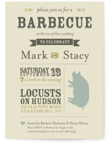 A Heartfelt Hay Day Rehearsal Dinner Invitations