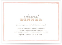 Sweet Frame Rehearsal Dinner Invitations