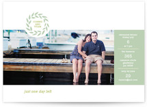 One More Day! Rehearsal Dinner Invitations