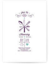 Engraving Rehearsal Dinner Invitations