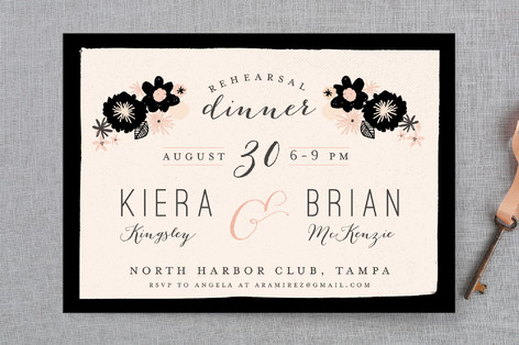 dinner rehearsal dinner invitations by lori wemple minted