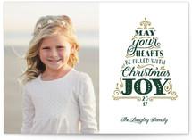 Joyful Tree Christmas Photo Cards