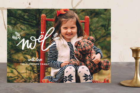 A Little Christmas Christmas Photo Cards
