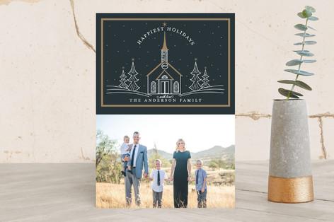 Little Church Christmas Photo Cards