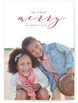 Scripted Christmas Blessings Christmas Photo Cards