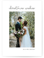 Simply Chic Christmas Photo Cards