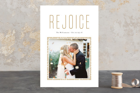 rejoicing heart Christmas Photo Cards