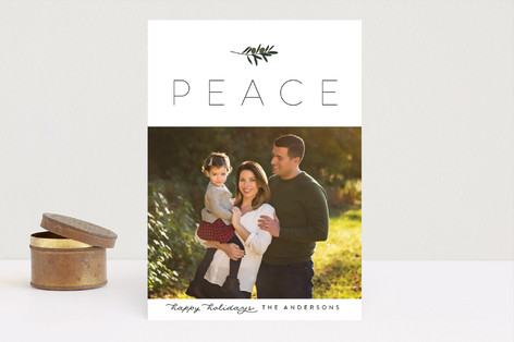 Olive Branch Christmas Photo Cards